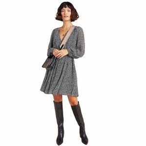 Anthropologie Maeve Carolyn Animal Mini Dress